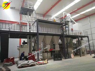 complete poultry mash feed plant