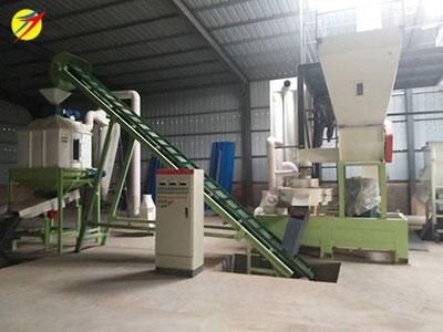 Alfalfa Hay Pellet Mill Plant