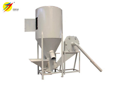 feed grinding and mixing machine