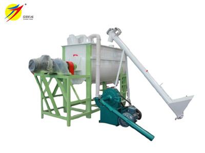 horizontal grinder mixer machine