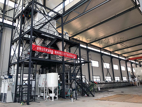 3tph poultry feed plant project