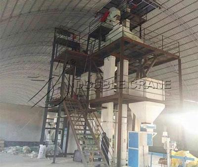 chicken feed plant Tajikistan